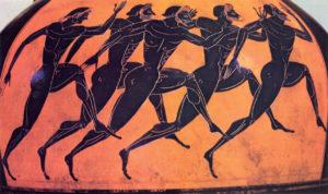 De oude Grieken deden al aan georganiseerde atletiek