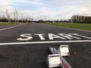 Trackstars Jeugdtraining op de asfalt accommodatie 5 april 2017