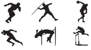 Atletiekonderdelen